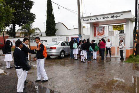 Desordenado el  regreso a clases en Tlaxcala