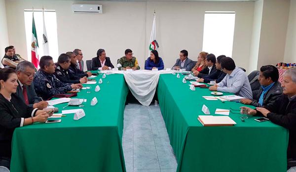 """Establece Grupo de Coordinación acciones preventivas por huracán """"katia"""""""