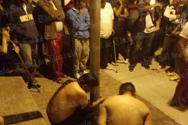 Se registra intento de  linchamiento de dos  tlaxcaltecas en Puebla