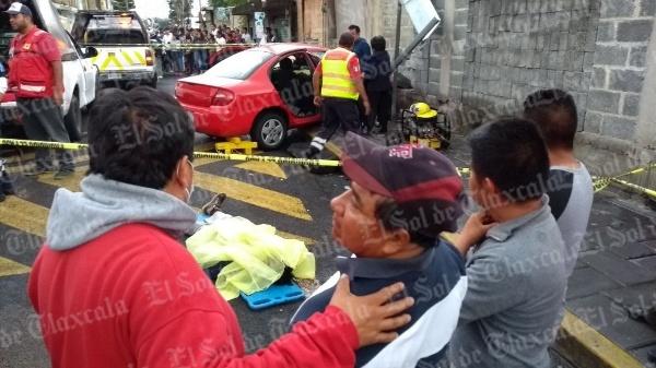 Tres muertos y un herido grave arroja accidente en Totolac