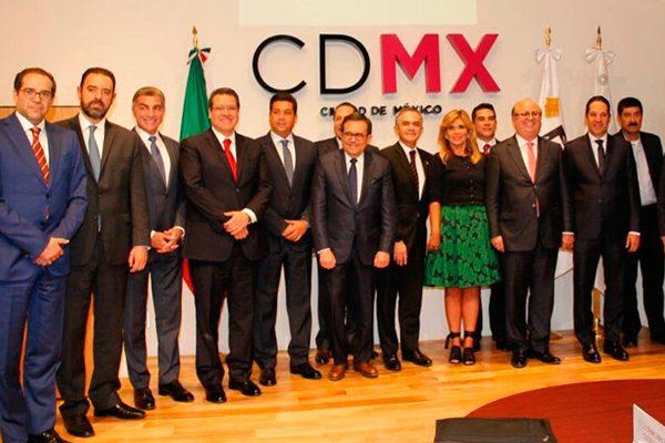 Participa Marco Mena en reuniones de la Conago