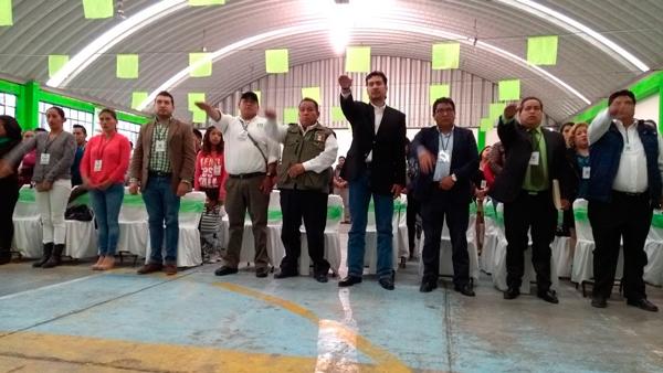 Ratifica el PVEM a Jaime Piñón en la secretaría general