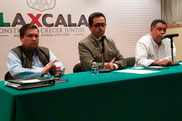 Afectadas mil cuatro escuelas en Tlaxcala; en 621 no habrá clases mañana