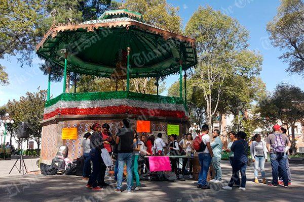 Inician las muestras de solidaridad en Tlaxcala