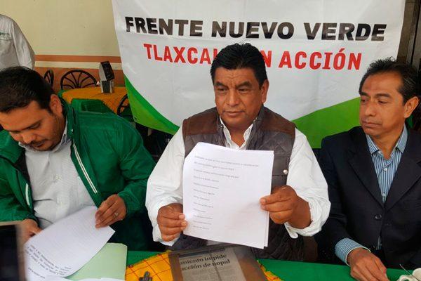 Militantes del PVEM buscan echar abajo la renovación de dirigencia