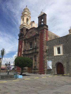 Permanece cerrada la Parroquia de Santa Inés
