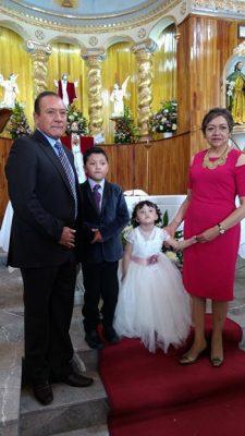 Festejan a los hermanos Emiliano y Arantza