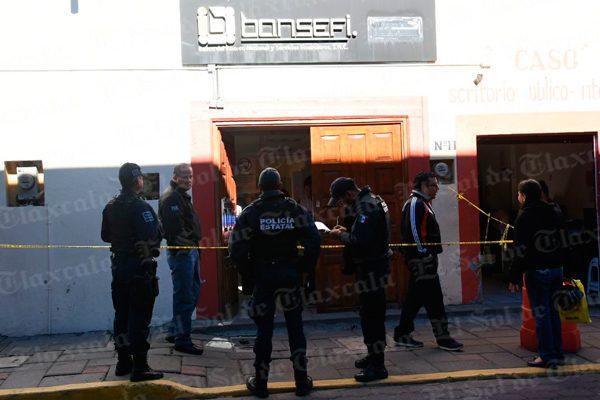 Ingresan sujetos desconocidos a Bansefi; se presume robo de efectivo