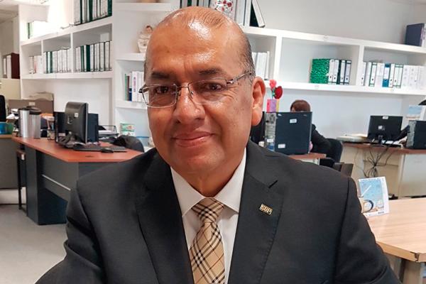 Jesús Antonio Pérez Varela fue designado como director de Educación Terminal. / EL SOL DE TLAXCALA