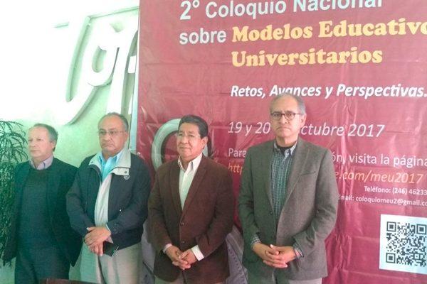 Presentan 2o. Coloquio Nacional sobre Modelos Educativos Universitarios