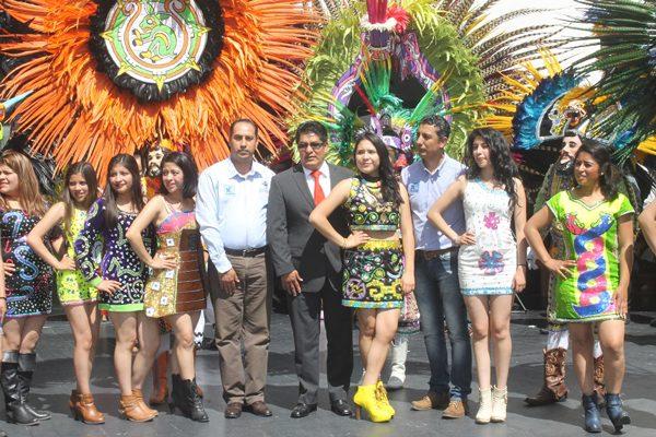 Participan danzantes de Ocotoxco en el Senado