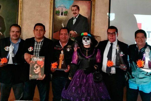 Presenta ayuntamiento de Tlaxcala el Cuarto Festival de la Muerte 2017