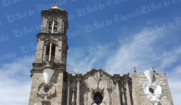 Continúan las reparaciones en parroquias de Tlaxcala