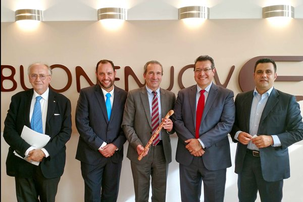 Promueve Marco Mena a Tlaxcala con empresarios italianos