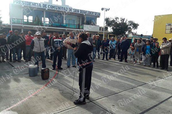 Exigen vecinos cierre de gasolinera en Xocoyucan, municipio de Ixtacuixtla