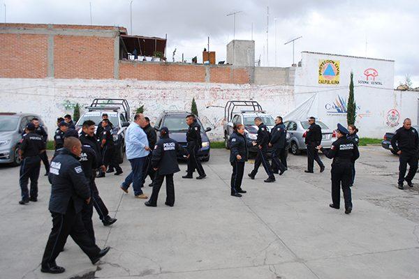 Interponen policías municipales denuncias por diversos delitos