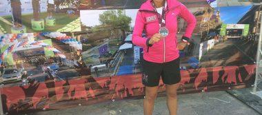 Triunfa Juana Mariana Cervantes en medio maratón de Nuevo León