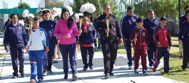 Compiten uno 200 alumnos de primaria en mini olimpiada
