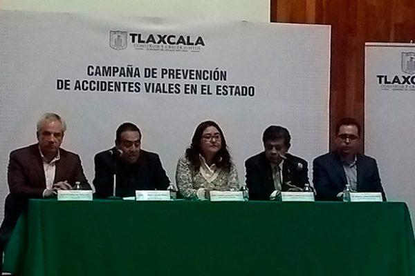 "Presentan Campaña de Prevención de Accidentes Viales ""Bájale dos rayitas"""