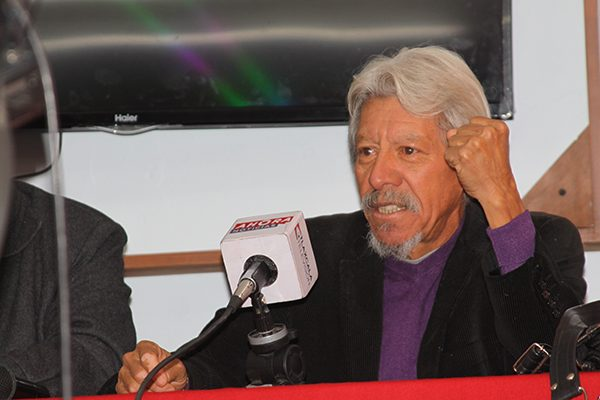 El investigador de la Conacyt, Francisco Javier Guevara Martínez, afirma que el 80 % de la basura que se genera en Tlaxcala puede ser reciclada. /Tomás BAÑOS