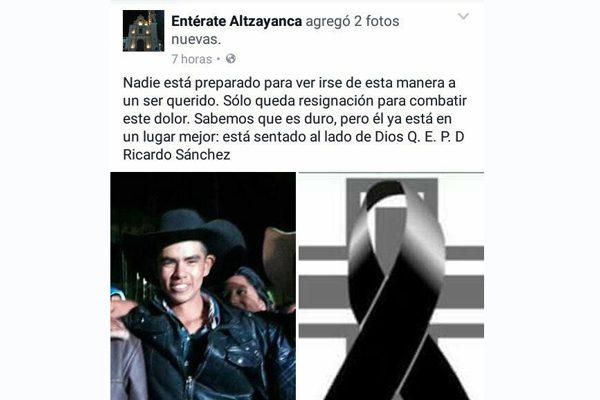 Matan a motociclista de un  escopetazo en Altzayanca