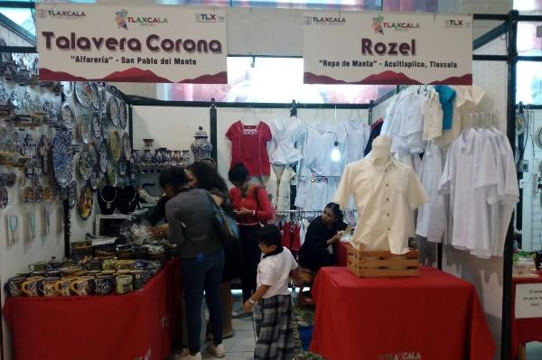 Realizan Expo Artesanal en la Feria Tlaxcala 2017