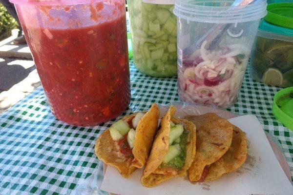 Realiza Patronato de Feria existoso Festival del Taco de Canasta y El Molote
