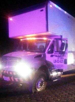 Frustra PGJE robo a camión de carga en Ixtacuixtla