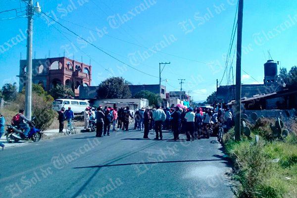 Ofensa verbal desata violencia en la comunidad de Cuba, municipio de Contla