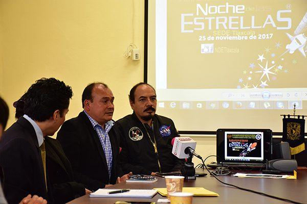 En puerta, fiesta de la astronomía en Tlaxcala