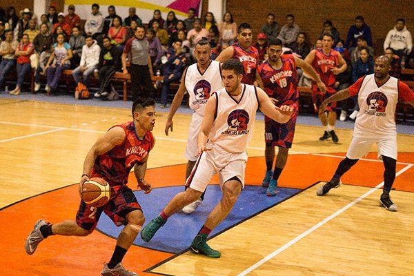 Reúne a Puebla, Hidalgo y Tlaxcala cuadrangular de basquetbol en Panotla