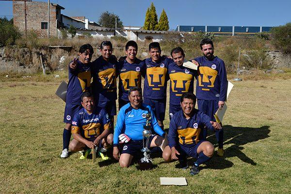 Argos, campeón de futbol en campus III UNAM Tlaxcala