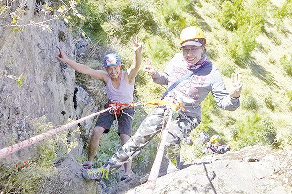 Por concluir el XIX curso de escalada en donde los integrantes aprendieron a escalar utilizando lastécnicasmás actuales y losprotocolos de seguridad