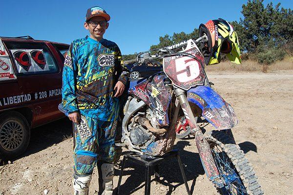 Óscar Padilla, amante de la adrenalina y la velocidad