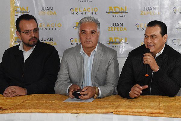 Da Juan Zepeda espaldarazo político a Gelacio Montiel