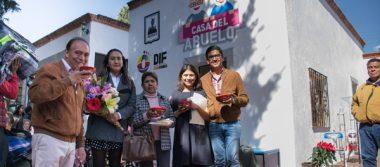 Inauguran en  Zacatelco la Casa del Abuelo