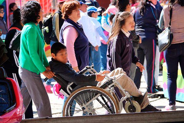 Hay en Tlaxcala 52 mil personas con discapacidad