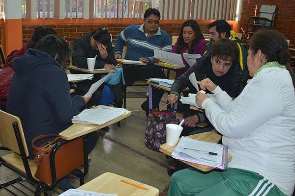 Comparten docentes problemáticas comunes, en tercer Consejo Técnico
