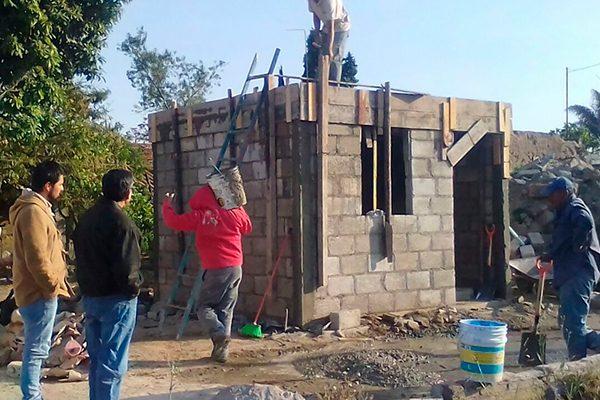 Reparará Sedatu 64 casas dañadas