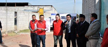Aplican más de 3 mdp en obras de servicios básicos en Calpulalpan