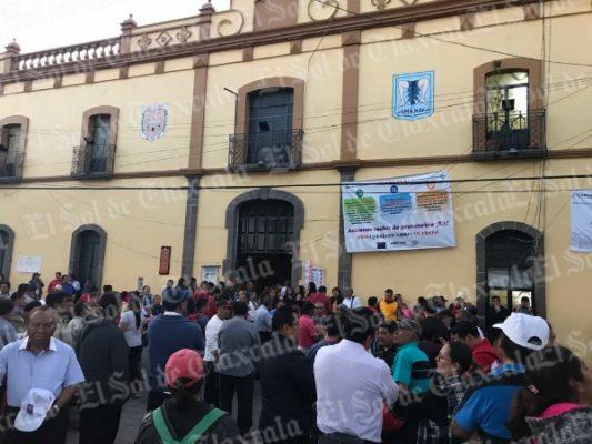 Acuerdan en Amaxac destituir  a sus 23 elementos policiacos