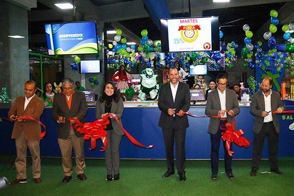 Inaugura Sedeco parque familiar en Galerías Tlaxcala