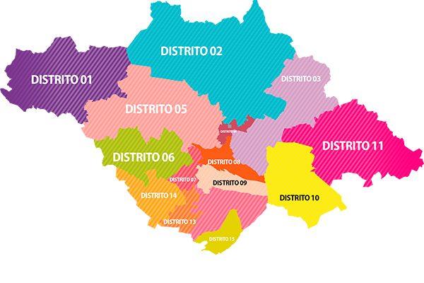 Orientará el ITE a los ciudadanos sobre nueva distritación electoral
