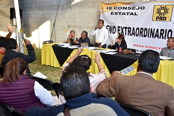 Sin mayor problema, avala Consejo del PRD convenio para crear Frente Ciudadano