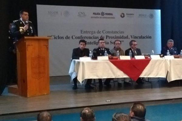Concluye Gendarmería capacitación de personal de 16 municipios