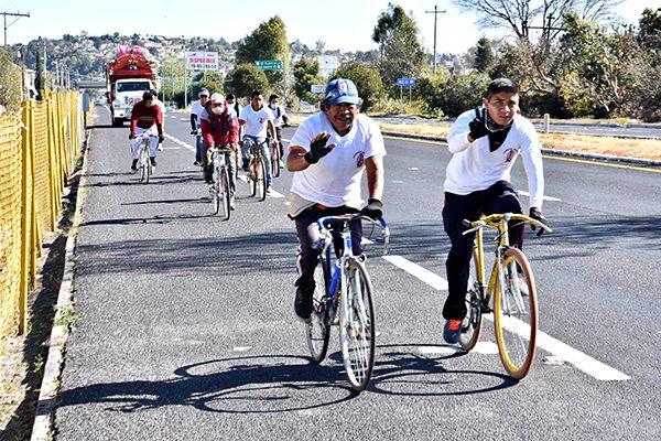 Cinco peregrinaciones por minuto cruzaron Tlaxcala