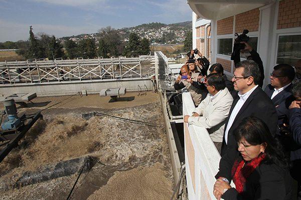 Amenazante polución del agua en Tlaxcala