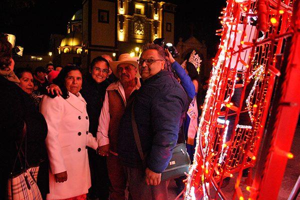 Ilumina la navidad a Tlaxco Pueblo Mágico