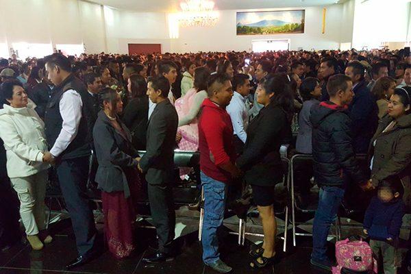 """Se dan el """"sí"""" 386 parejas de Tlaxcala"""