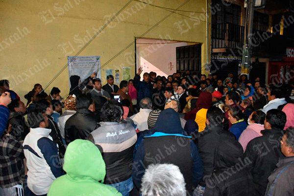 Asesinato de campesino moviliza a habitantes en Amaxac
